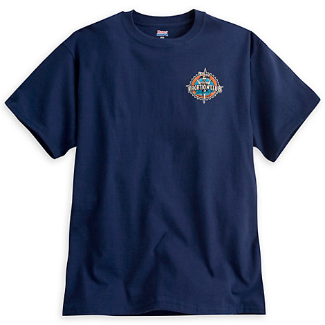 Mickey Mouse Disney Vacation Club Tee for Adults - Navy
