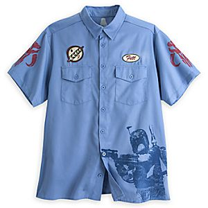 Boba Fett Workshirt for Men – Star Wars