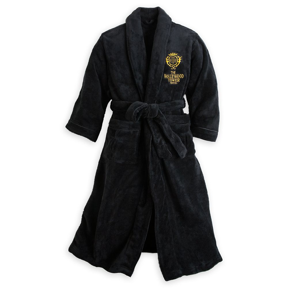 Hollywood Tower Hotel Plush Robe for Men Official shopDisney Tower of Terror Merchandise