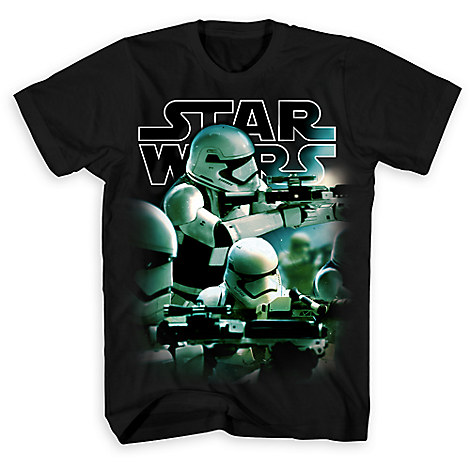 First Order Stormtrooper Tee for Adults - Star Wars: The Force Awakens