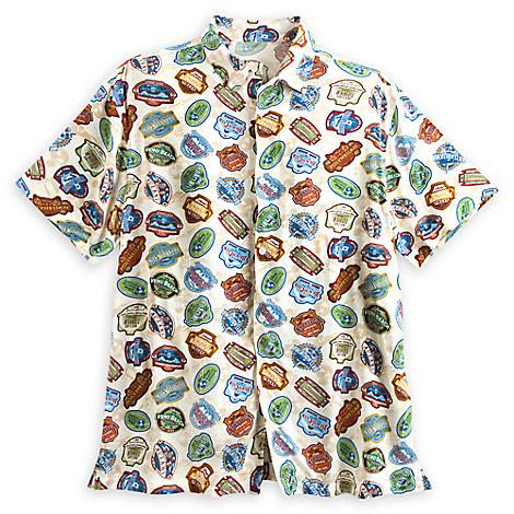 Disney Vacation Club Woven Shirt for Men