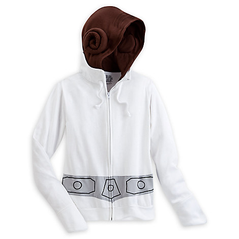 Princess Leia Costume Hoodie for Adults by Her Universe - Star Wars