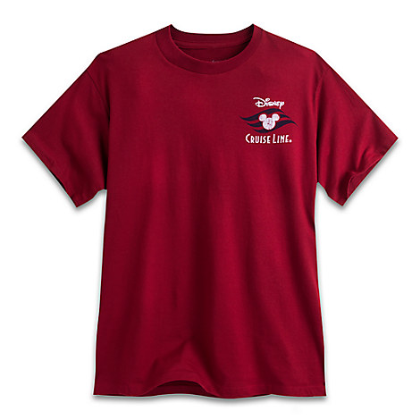 Disney Cruise Line Tee for Adults - Red