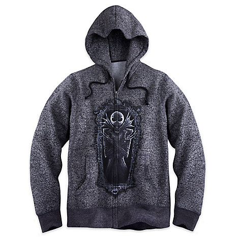 Jack Skellington Zip Hoodie for Men