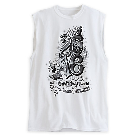 Sorcerer Mickey Mouse Sleeveless Tee for Adults - Walt Disney World 2016