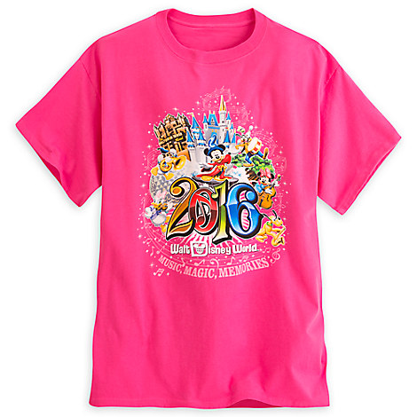 Sorcerer Mickey Mouse and Friends Tee for Adults - Walt Disney World 2016