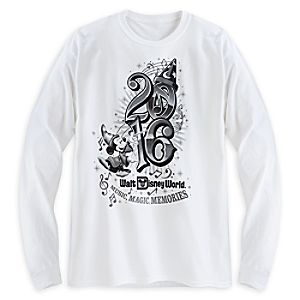 Sorcerer Mickey Mouse Long Sleeve Tee for Adults - Walt Disney World 2016