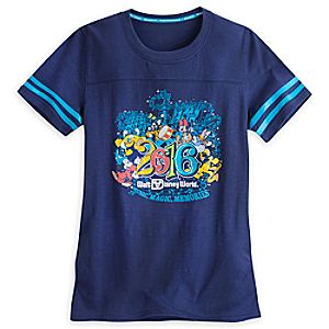 Sorcerer Mickey Mouse and Friends Athletic Tee for Women - Walt Disney World 2016