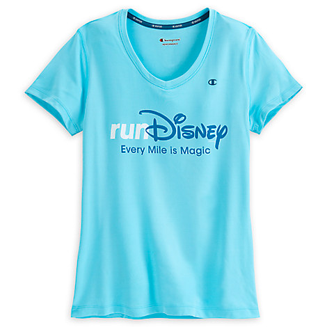 runDisney Performance V-Neck Tee for Adults by Champion
