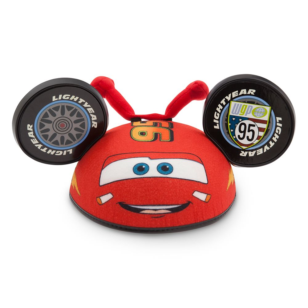 Lightning McQueen Ear Hat for Kids