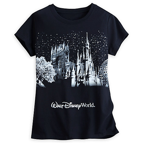 Walt Disney World Glitter Icon Tee for Women