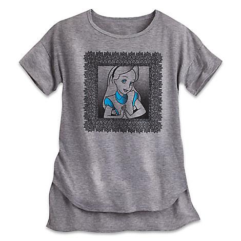 Alice in Wonderland Fashion Tee for Women - Disney Boutique
