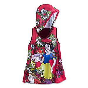 Snow White, Dopey, and Grumpy Hooded Tank Top