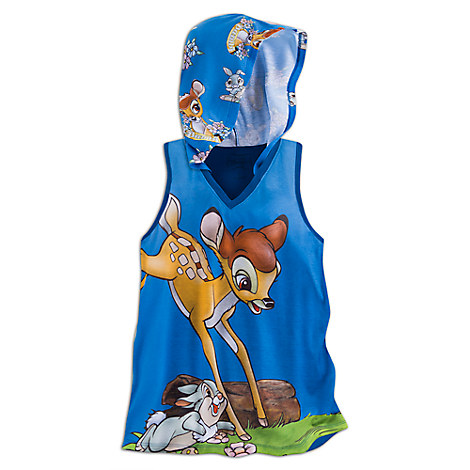 Bambi Hooded Tank Top for Women - Disney Boutique