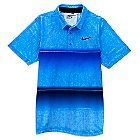 Mickey Mouse Banded Performance Polo Shirt for Men by NikeGolf - Blue