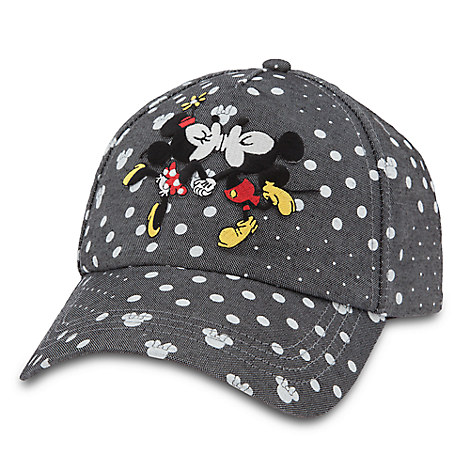 Mickey and Minnie Mouse Baseball Cap for Adults