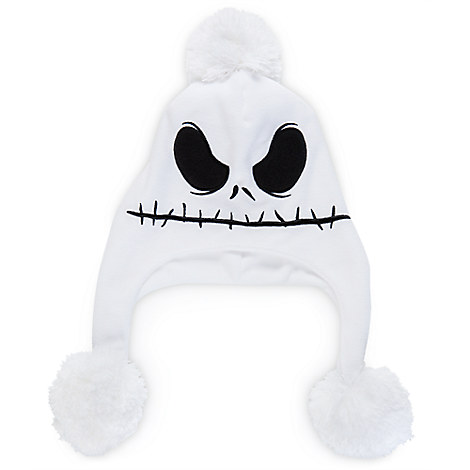 Jack Skellington Flap Beanie for Adults