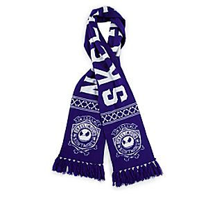 Jack Skellington Knit Scarf for Adults