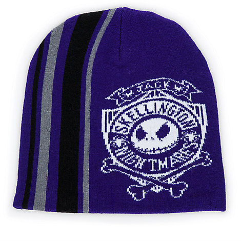 Jack Skellington Knit Beanie for Adults