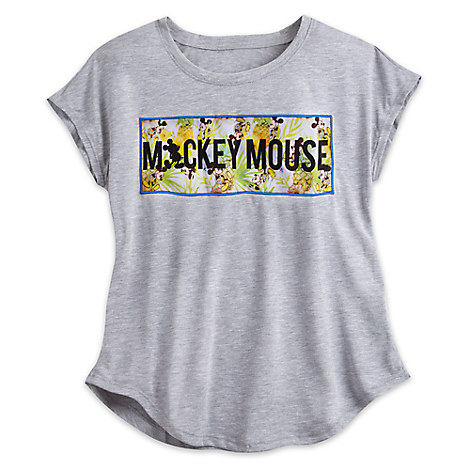 Mickey Mouse Tropical Fashion Tee for Women - Disney Boutique