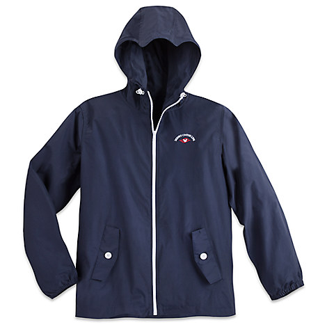 Disney Cruise Line Hooded Rain Jacket for Adults