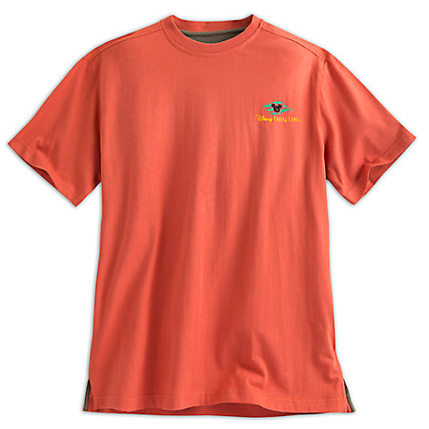 Disney Cruise Line Tropical Tee for Men - Pumpkin