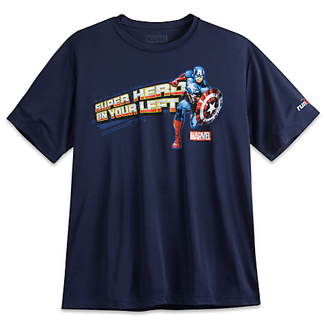 Captain America runDisney Performance Tee for Adults