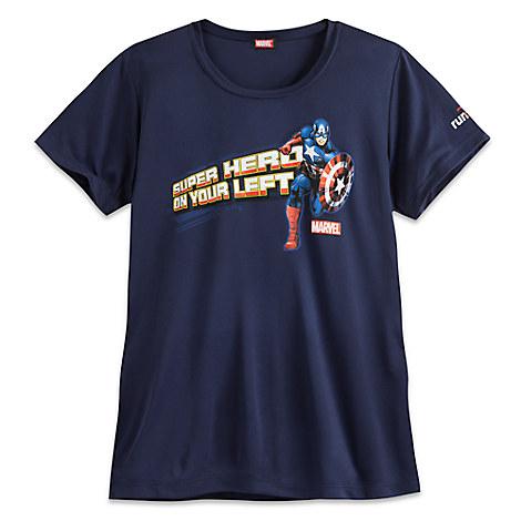 Captain America runDisney Performance Tee for Women