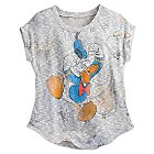 Donald Duck Dolman Knit Top for Women