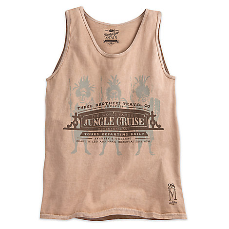 Jungle Cruise Fashion Tank Tee for Men - Twenty Eight & Main Collection