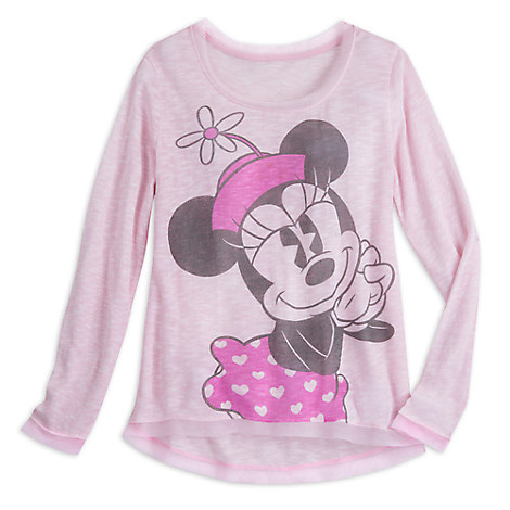 Minnie Mouse Slub Knit Top for Women - Disney Boutique