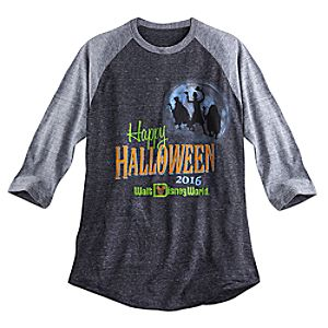 Hitchhiking Ghosts Raglan Tee for Adults - Halloween 2016 - Walt Disney World
