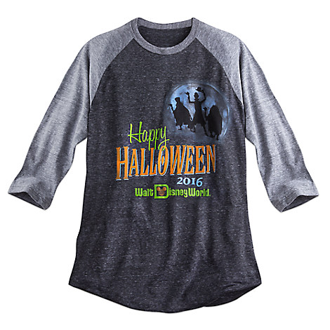 Hitchhiking Ghosts Raglan Tee for Adults - Halloween 2016 - Walt Disney World