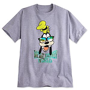 Goofy in Sunglasses Tee for Adults - Walt Disney World