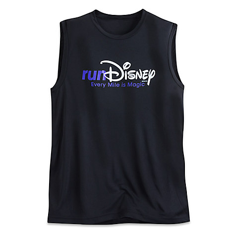 runDisney Sleeveless Performance Tee for Adults