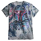 Boba Fett Tie Dye Tee for Adults