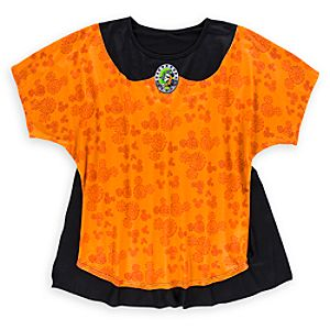 Minnie Mouse Witch Tee with Cape For Women - Halloween