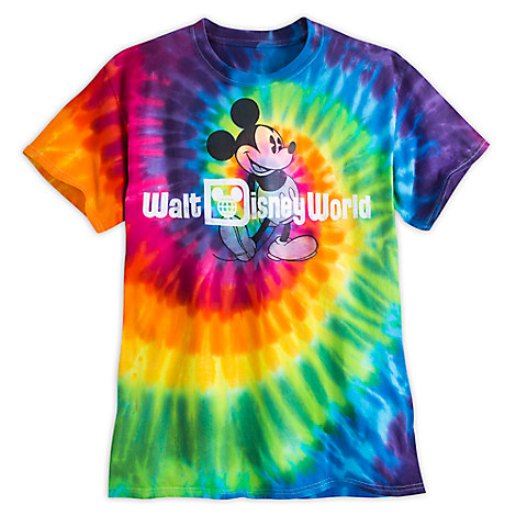 Mickey Mouse Tie-Dye Tee for Adults - Walt Disney World