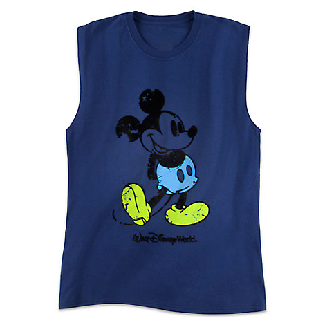 Mickey Mouse Sleeveless Tee for Men - Walt Disney World