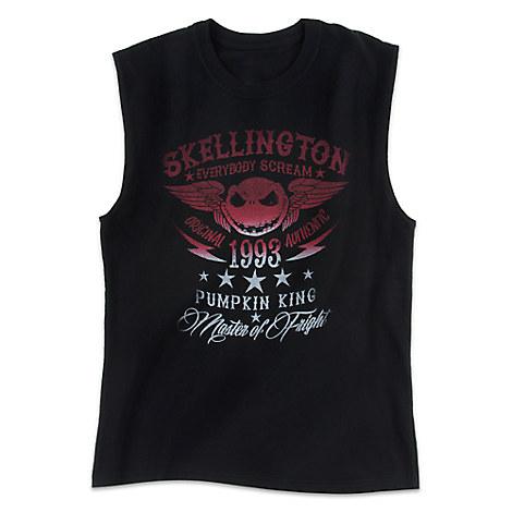 Jack Skellington Sleeveless Tee for Adults
