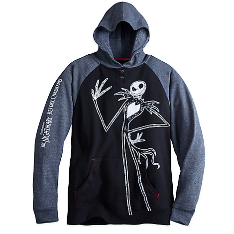Jack Skellington Pullover Hoodie for Men