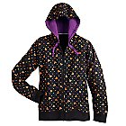 Mickey Mouse Icon Halloween Zip Hoodie for Women