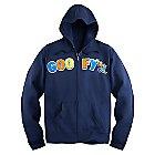 Goofy Zip Hoodie for Adults
