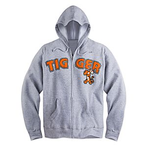 Tigger Zip Hoodie for Adults