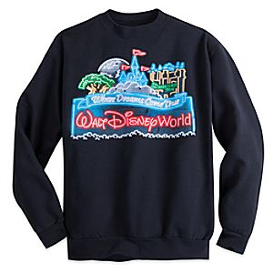 Walt Disney World Neon Sweatshirt for Adults