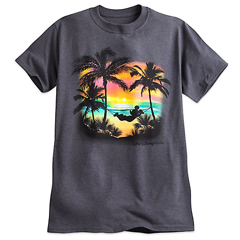 Mickey Mouse Tropical Tee for Adults - Walt Disney World