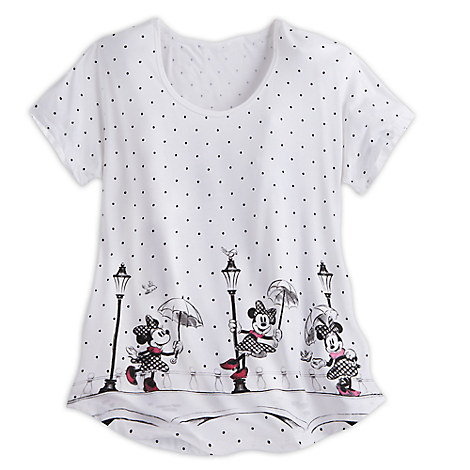 Minnie Mouse Dolman Fashion Tee for Women