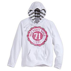 Walt Disney World Collegiate Pullover Hoodie for Women