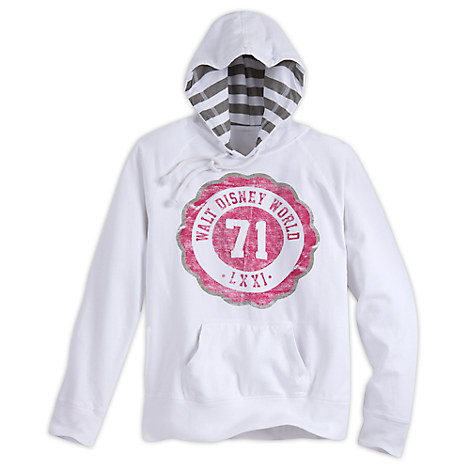 Walt Disney World Collegiate Pullover Hoodie for Women