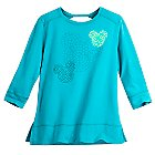 Mickey Mouse Mosaic 3/4 Sleeve Top for Women
